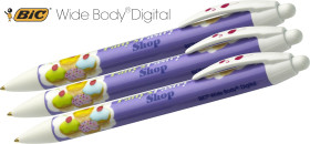 Relatiegeschenk Bic Wide Body Digital Balpen