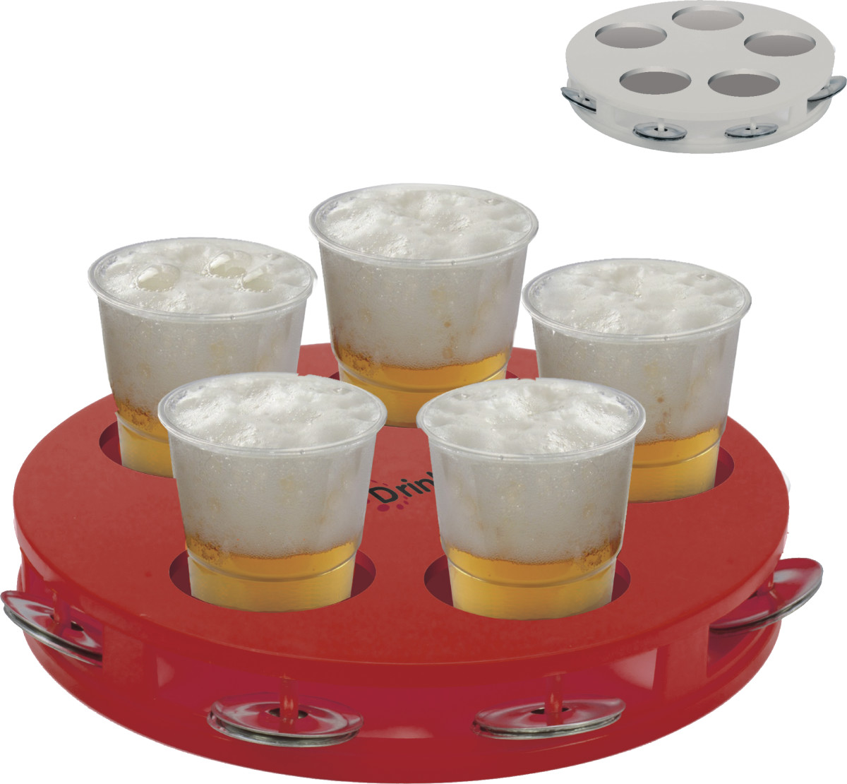 Biertray bedrukken