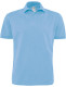 B&C Heavymill Polo Heren - Sky blue
