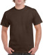 Gildan Heavyweight T-shirt Unisex - Dark chocolate