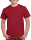 Gildan Heavyweight T-shirt Unisex - Kardinaalrood