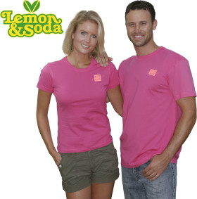 Relatiegeschenk Lemon & Soda iTee t-shirt for him