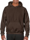 Gildan Heavyweight Hoodie - Dark chocolate