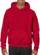 Gildan Heavyweight Hoodie - Cherry red