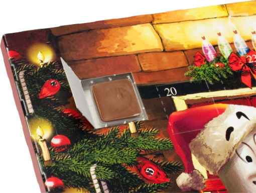 Relatiegeschenk Custom made Adventskalender bedrukken