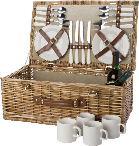Relatiegeschenk 4-persoons picknickmand Willow