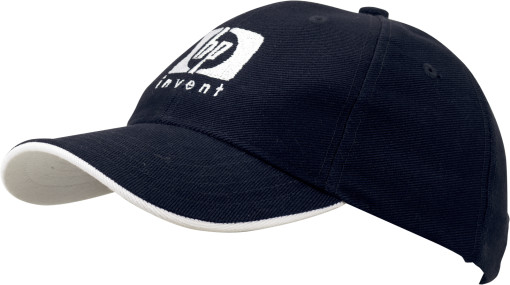 Relatiegeschenk 6-Panel heavy cotton cap bedrukken