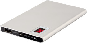 Relatiegeschenk Powerbank Slim met Power Indicatie