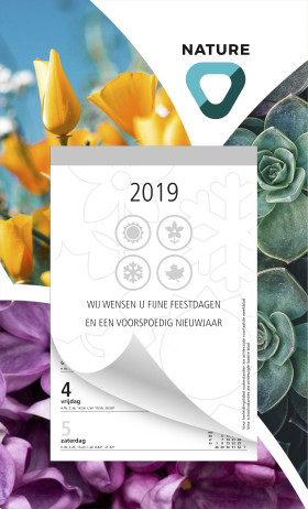 Relatiegeschenk Weekblokkalender Full colour Basic
