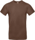 B&C 190 T-shirt Heren - Chocolate